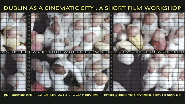 Architectural Peripheries of Dublin: A Short Film Workshop