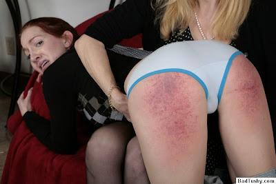 Panty spank gallerys