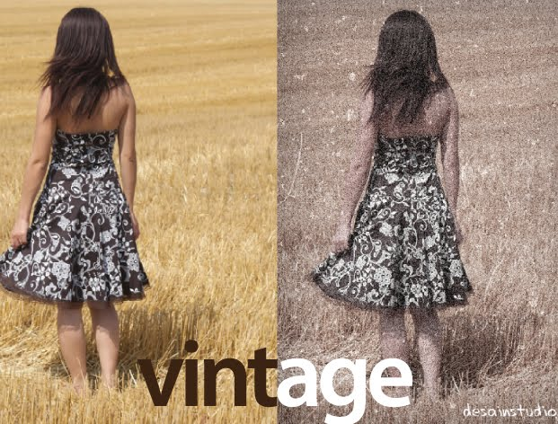 Latest tutorial how to edit a vintage photo effect using adobe.