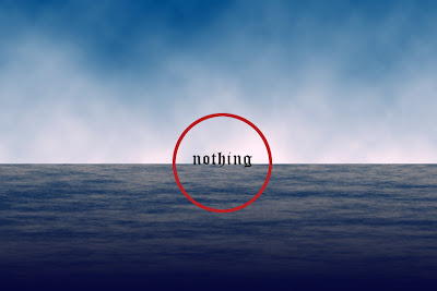 a red circle with nothing in it by allan revich (nowhere)