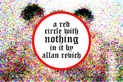 a red circle with nothing in it by allan revich