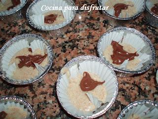 receta MAGDALENAS INTEGRALES