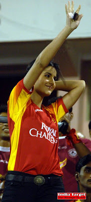 Katrina Kaif at IPL Matches