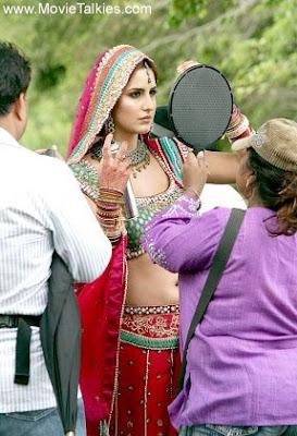 Katrina Kaif Shooting For Singh is King