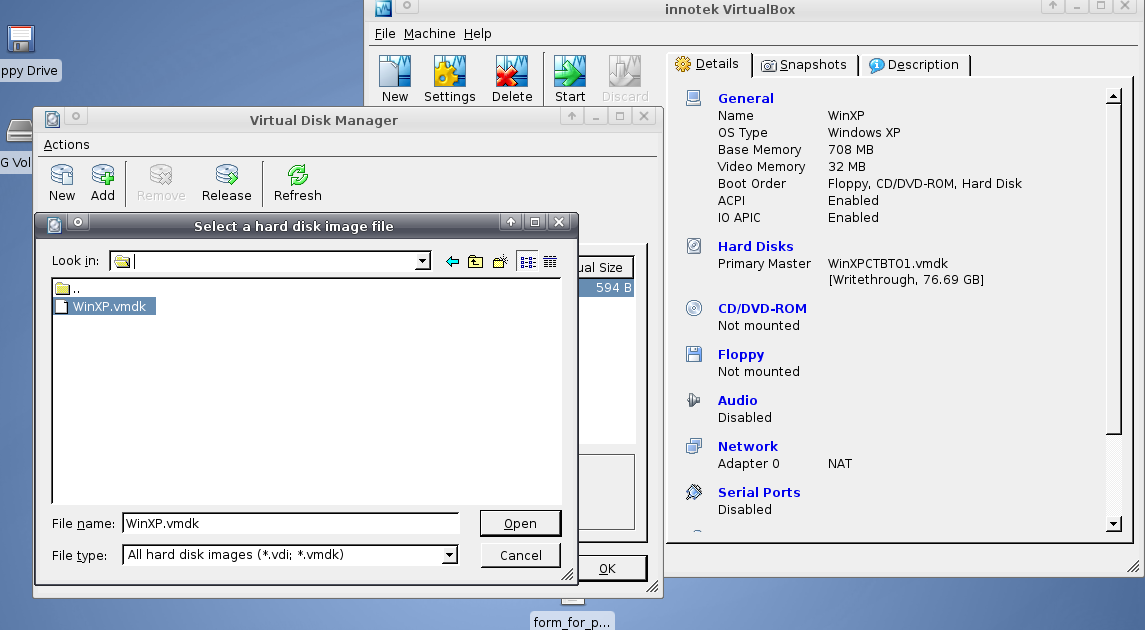 8760 (VMDK: VERR_SHARING_VIOLATION) – Oracle VM VirtualBox