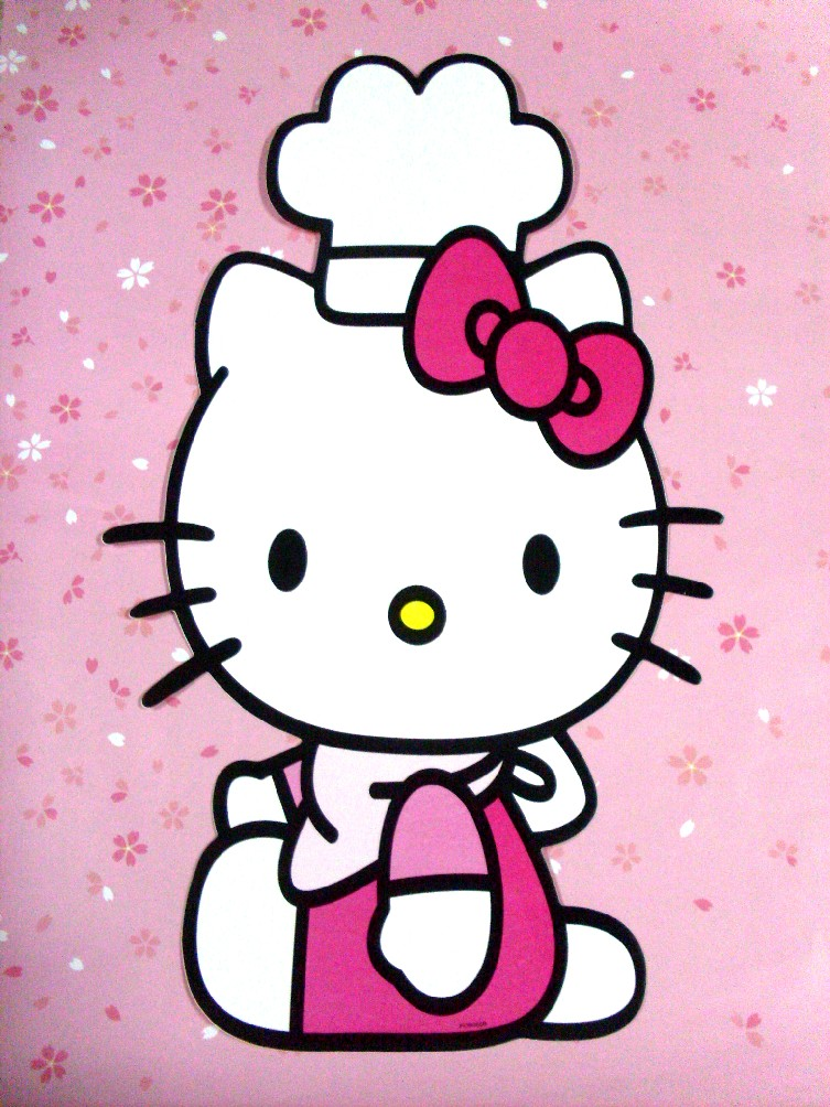 Ioryfashion Hello Kitty And Bunny Series Wall Sticker