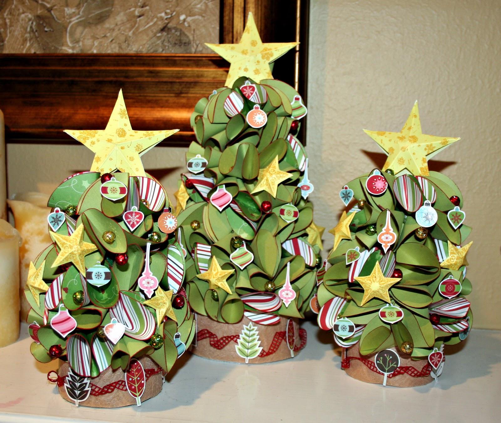 Christmas Tree Trio: Heather Leopard: Christmas Tree Trio And Tutorial