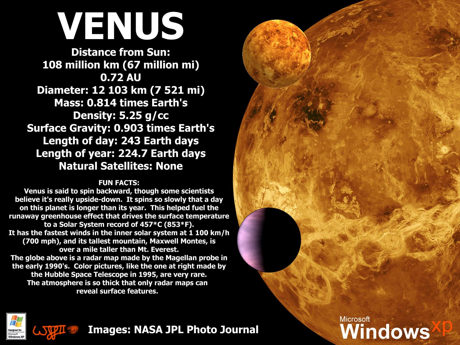 venus atmosphere facts - HD1600×1200