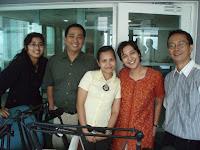 Siaran 80-an di acara IndonesiaSiesta untuk Jaringan Delta FM