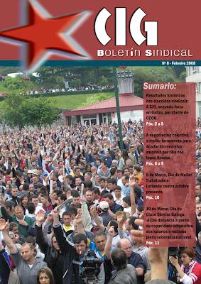 Boletín Sindical número 8
