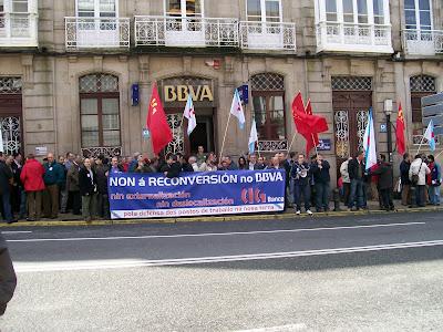 mobilización en Compostela