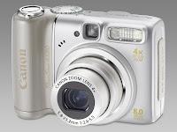 Canon PowerShot A580 fotoaparatas