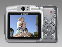 Canon PowerShot A720 IS back