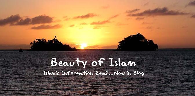 Beauty Of Islam: July 2007