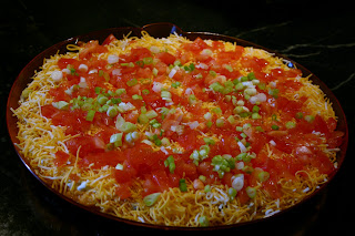 Full Circle {Pumpkin Taco Dip}