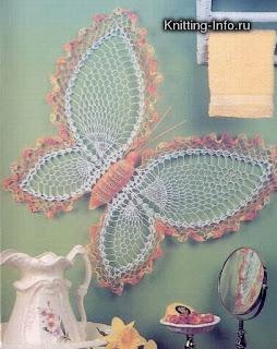 Kelebekli Dantel Örnekleri