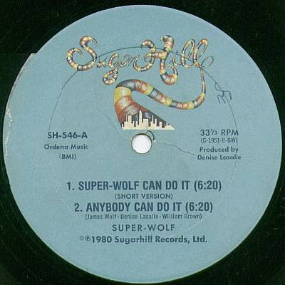 Rare and Obscure Music: Super Wolf