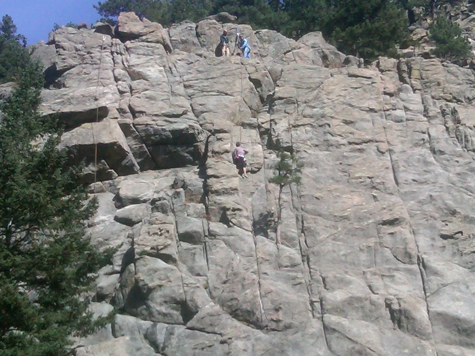 Mike Komadina and Dorian Smith: Nine rock climbing accidents in