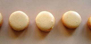 recettes dessert  Macarons coeurs