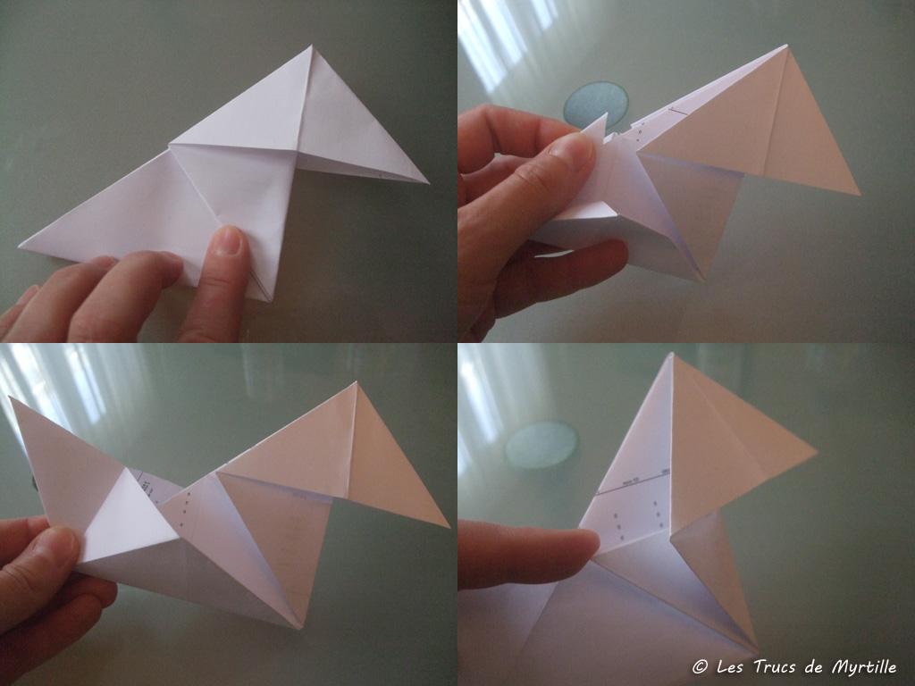 les trucs de myrtille faire une cocotte en papier origami. Black Bedroom Furniture Sets. Home Design Ideas