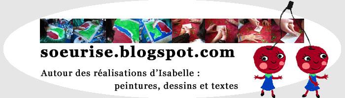 [soeurise] Isabelle Fillon et ses langages : peintures, dessins et textes (art et handicap, Lyon)