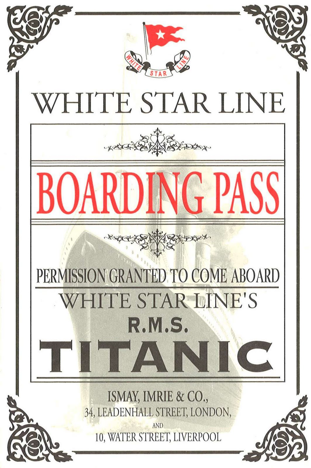 The Unsinkable R M S Titanic Resources