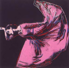 MARTHA GRAHAM by andy warhol