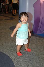 Paige at 19 months in Walt Disney World