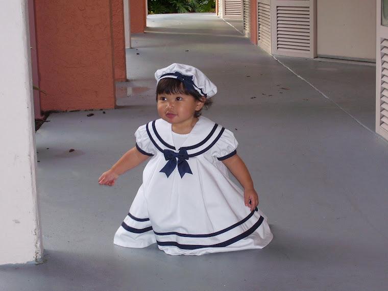 Me in my Sailor Dress