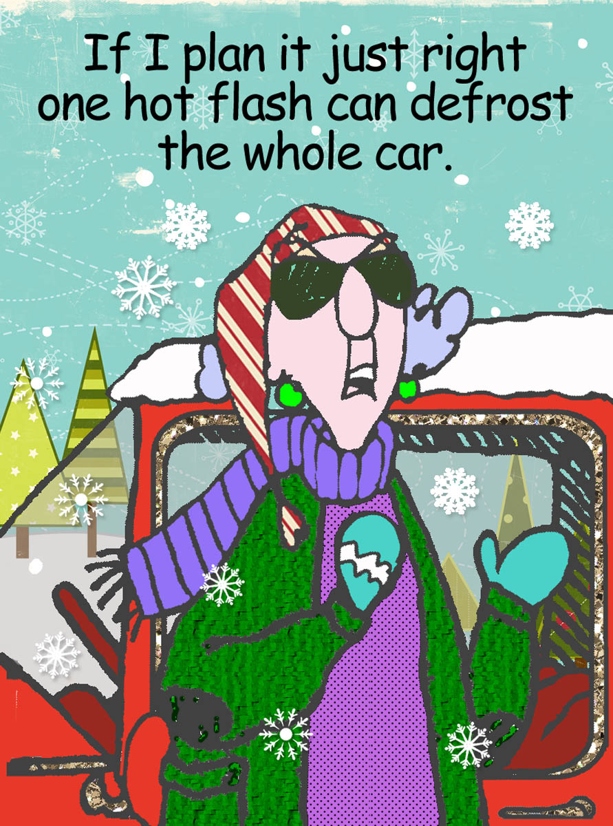 Maxine Cartoons About Winter