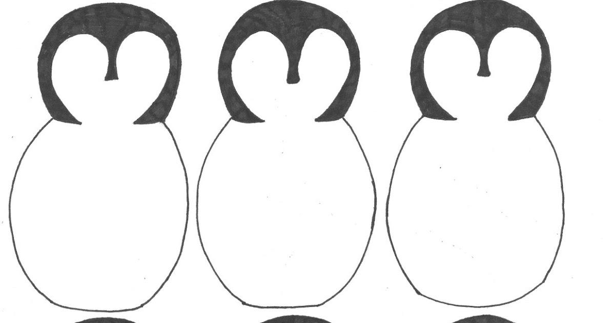 Creator\u0027s Joy Preschool Penguin Project - penguin template