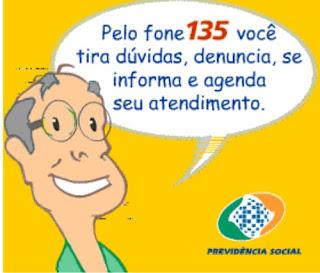 A Previdência Social e o atendimento alternativo pelo fone 135.