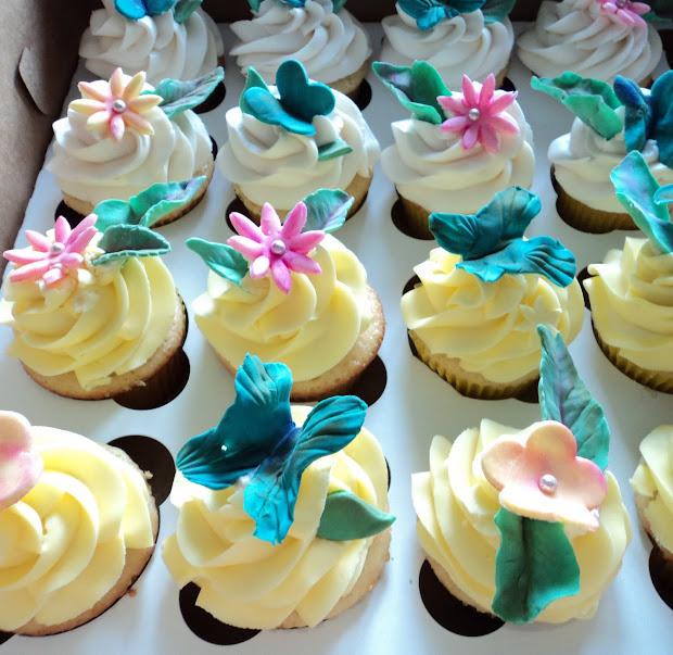 Yummy Goodness Bake Shoppe Fancy Cupcakes