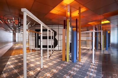 The balenciaga london flagship boutique luxuo for Balenciaga new york store