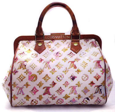 Richard Prince Collaborated With Marc Jacobs To Design Artistic Bags For The Louis Vuitton Spring Summer 2008 Line