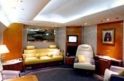 airbus VIP a340 interior