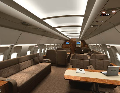 Airbus Corporate Jet Cabin