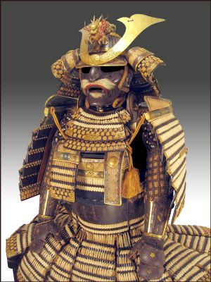 Authentic japanese samurai armor