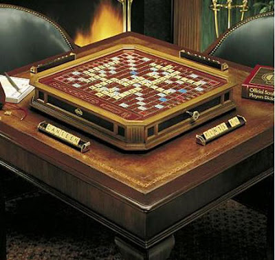 If You Think That The Swarovski Encrusted Scrabble Board Was A Little Bit  Too U201cbling Blingu201d, Here Is Another Luxury Edition Of Scrabble Game Which  Looks A ...