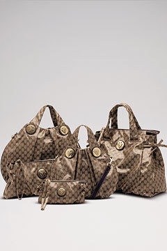 Gucci's new Crystal GG bags for autumn winter 2008-9 are expected to be  this season's 'it' bag, Vogue UK reported. 4ee7c364906