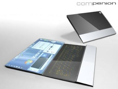 compenion-laptop TOP 10 - Futuristic Concept Laptop Designs