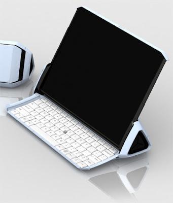 music-stand-laptop TOP 10 - Futuristic Concept Laptop Designs