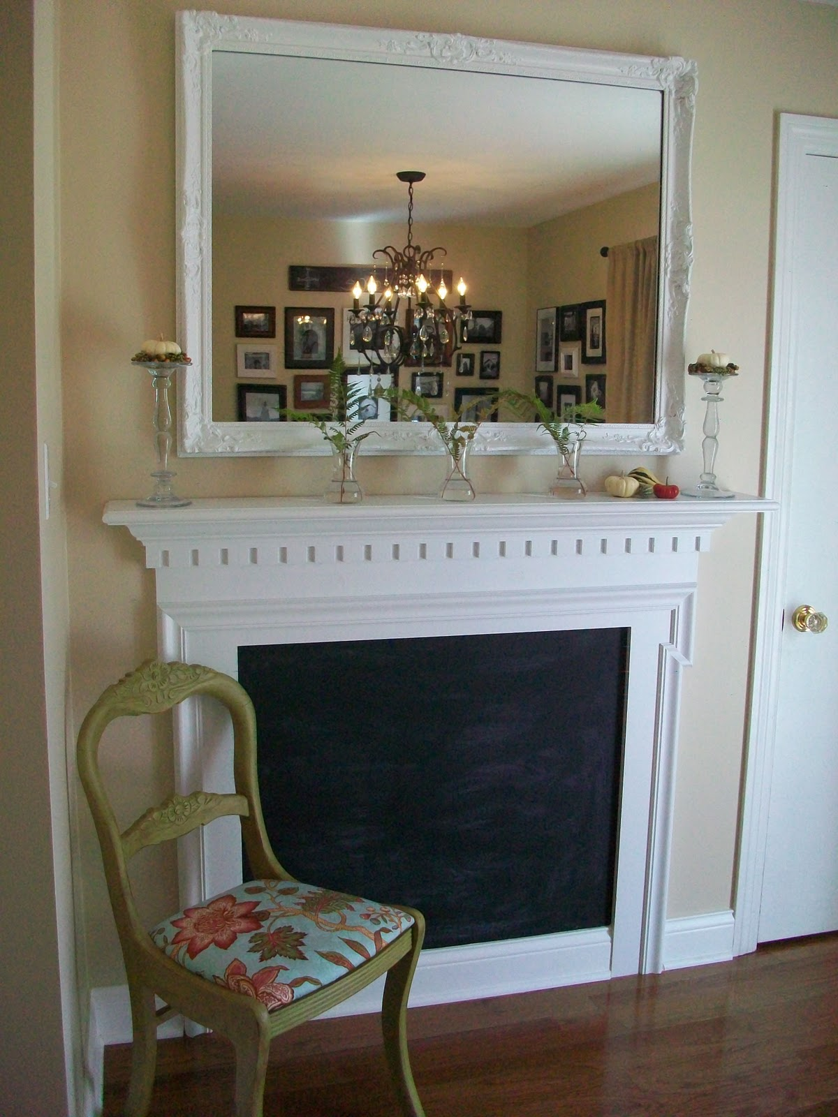 Confessions Of A Cf Wife Dr Appointment And Faux Fireplace