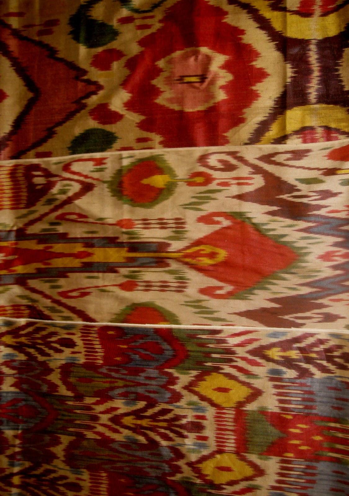 Haus Design A Turkish Bath Ikat Fabric And More