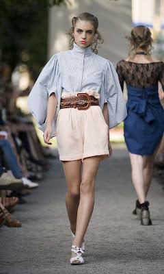 Carin Wester, STHLM, Stockholm, Fashion days, Berns, Swedish fashion, SS09, Spring Summer,
