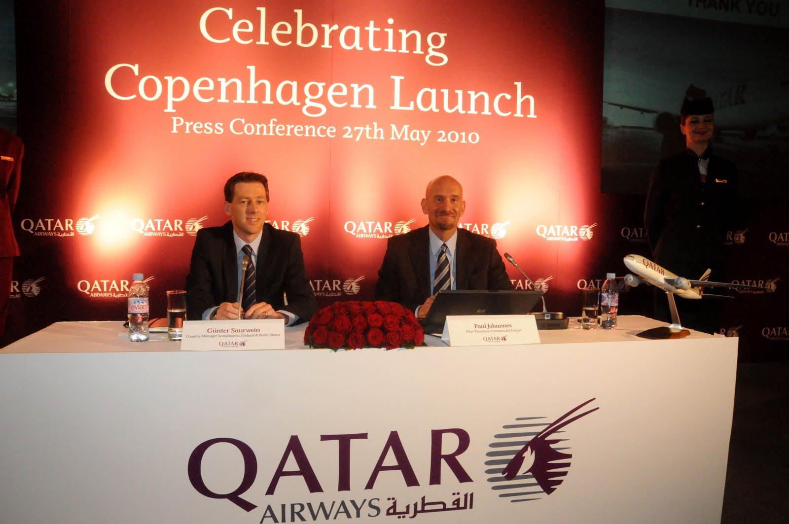 qatar airways københavn