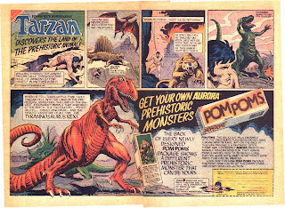 Aurora ad by Joe Kubert