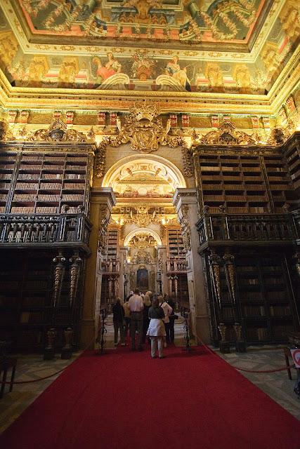 Biblioteca da Universidade de Coimbra, Portugal