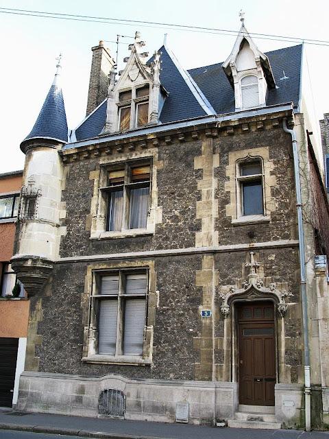 Casa de rico burguês, Reims, França