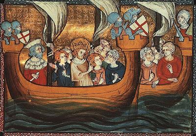 São Luiz embarca para a Cruzada